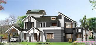 modern floor plans for new homes modern 5 bedroom home design kerala home design and floor plans