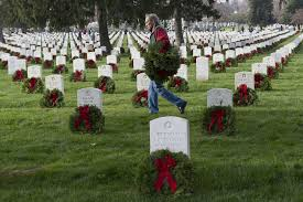wreaths across america has family ties to its supplier wsj