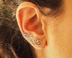climber earrings 93 best ear climber earrings images on climbers