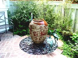 Diy Patio Fountain Diy Backyard Ideas Inspiring And Simple Water Fountain Designs