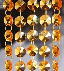 cheap 33ft top quality garland 14mm k9 octagonal