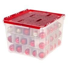 Christmas Decoration Storage Containers by Plastic Lid Christmas Ornament Storage Box At Home At Home
