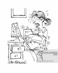 pregnant woman cartoons and comics funny pictures from cartoonstock