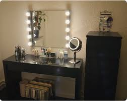 Vanity For Bedroom Vanity Mirror Set With Lights Nuhsyr Co