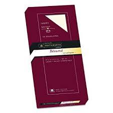 Resume Paper Size Amazon Com Southworth Exceptional Resume Envelopes 100 Cotton