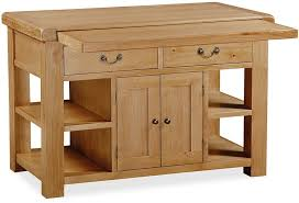 buy global home vintage oak extending kitchen island 2 door 2