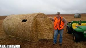 How To Make A Hay Bail Blind Armslist For Trade Hay Bale Blind