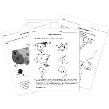 social studies printable worksheets and activities geography