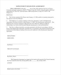 employment agreement samples