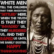thanksgiving how to a country and rewrite history