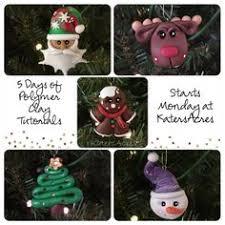 clay santas polymer clay tutorial diy christmas ornaments