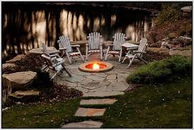 Rustic Firepit Rustic Outside Pits Backyard Designs Agnew