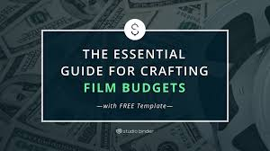 Free Download Budget Template The Essential Guide For Crafting Film Budgets With Free Film