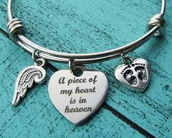 pregnancy loss jewelry miscarriage jewelry baby memorial memorial gift bracelet