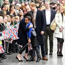 prince harry meghan prince harry and meghan markle in birmingham march 2018 popsugar
