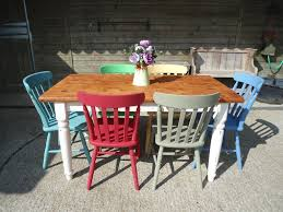 Coloured Kitchen Table And Chairs Home Dining Sets Four Seater - Pine kitchen tables and chairs