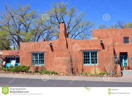 Modern Adobe Houses by Historic Adobe House Editorial Stock Photo Image 43000803