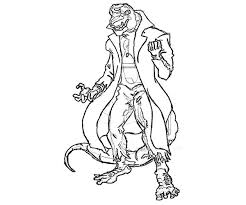 amazing spider man lizard coloring pages coloring kids