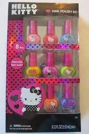 amazon com hello kitty nail polish set beauty