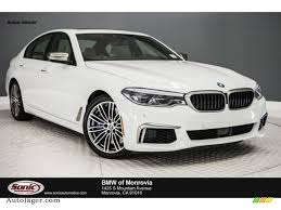 2018 bmw 5 series m550i xdrive sedan in alpine white for sale