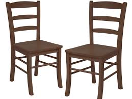 Home Decor Affordable Kitchen Chairs Brown Stained Wooden Chairs Without Armrest