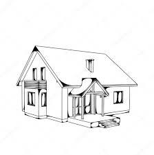 casa disegno disegno a casa â vettoriali stock â almatea 5356952
