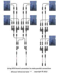 mc4 t branch connector solar panel parallel wiring diagram lovely
