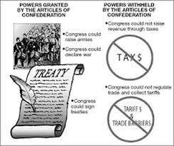articles of confederation worksheet worksheets