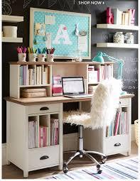 living spaces kids desk girls room with glass top desk under shelves transitional regard to