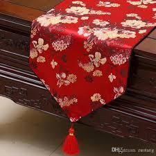 luxury damask table runner elegant luxury jacquard table runner fashion simple rectangle coffee