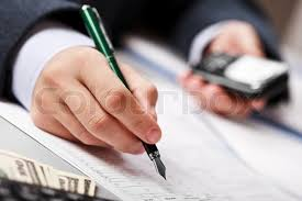 Working business man hand pen writing paper document at office     Colourbox Stock image of      Working business man hand pen writing paper document at office workplace