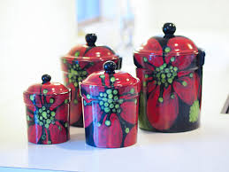 canisters kitchen canister set ceramic canisters pottery canisters