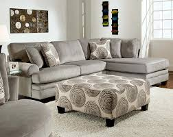 50 Beautiful Living Rooms With Ottoman Coffee Tables by Sofas Center Greyectionalofa Grayleeper Modern With Recliner