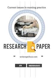 how to write a scholarly paper nursing nursing research paper example