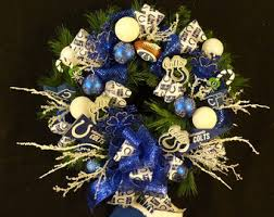 colts wreath etsy