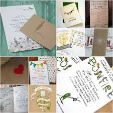 Wedding Invitation Stationery Do It Yourself Rustic Handmade Wedding Stationery Part 1 The