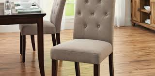dining room simple white tufted parson dining room chairs and