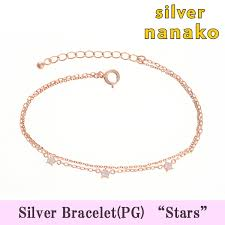 rose gold womens bracelet images Accessory shop mobanana rakuten global market silver 925 silver jpg