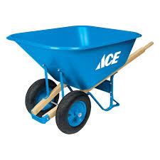 wheelbarrows steel and contractor wheelbarrows at ace hardware