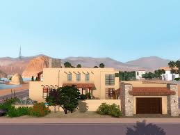 southwestern houses mod the sims su casa southwest