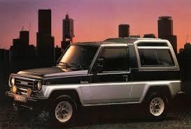 daihatsu rocky offroad curbside classic 1990 daihatsu rocky se u2013 technical knockout