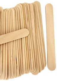 jumbo color wooden craft sticks