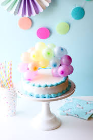 in cake toppers rainbow balloon cake topper