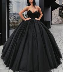 black wedding dresses strapless bodice corset black organza gowns wedding dresses