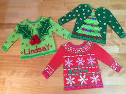 Ugly Christmas Sweater Party Decorations by Beth Watson Design Studio Personalized Ugly Christmas Sweater