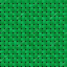 green woody rattan wicker weave seamless pattern texture