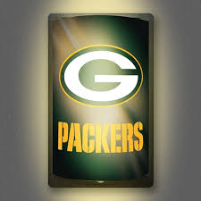 nfl motion activated light up decals green bay packers all star sports collectibles autographed sports