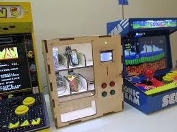 how to make an arcade cabinet diy arcade cabinet kits more arduino vending machine