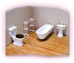 Dolls House Bathroom Furniture 92 Best Bathrooms Images On Pinterest Doll Houses Dollhouses