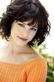 hairstyles for curly hair with bangs medium length u2013 latest